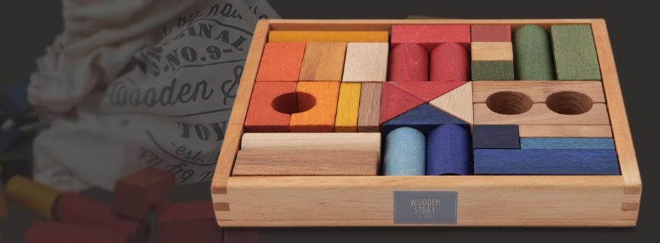 Woodly store giocattoli di legno for Case di tronchi di blocchi di legno