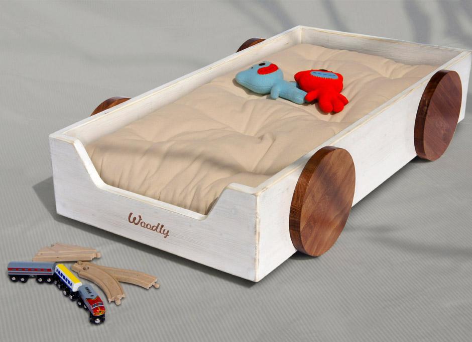 Lettino montessori bianco shabby - Ikea letto montessori ...
