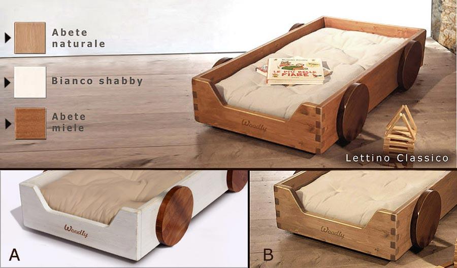 Lettino montessori di woodly for Misure materasso lettino