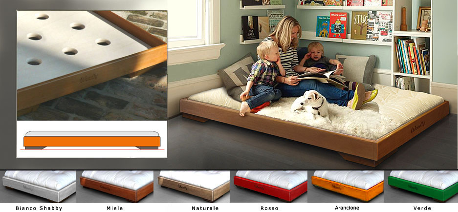 Woodly store i letti bassi - Letto basso giapponese ...