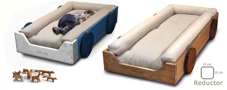 Woodly store cama ecologica montessori for Cama 60x120